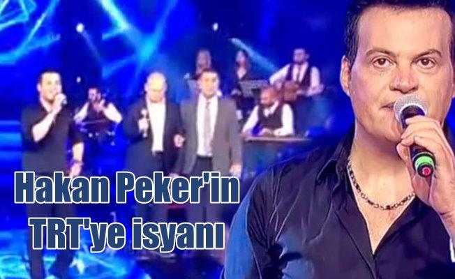 Hakan Peker'den TRT rejisine isyan etti, programı bıraktı