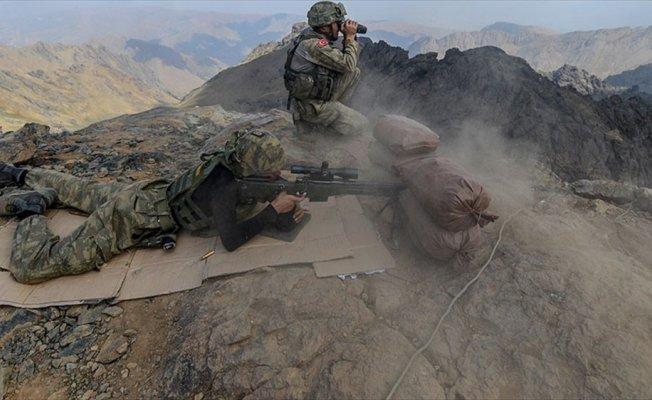 Irak sınırında terör örgütü PKK'ya operasyon