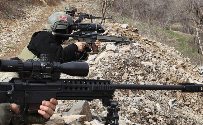 Irak'ın kuzeyinde 9 terörist daha etkisiz hale getirildi