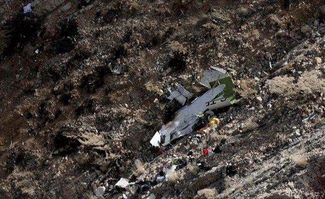 İran'da düşen özel Türk uçağında ölen 11 kişinin cenazesine ulaşıldı