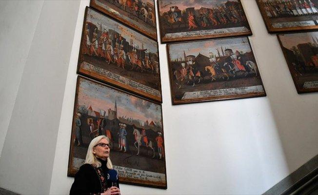 IV. Mehmed'in av seferi tabloları İsveç müzesinde