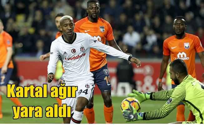 Kartal, Başakşehir'de ağır yara aldı; 1-0