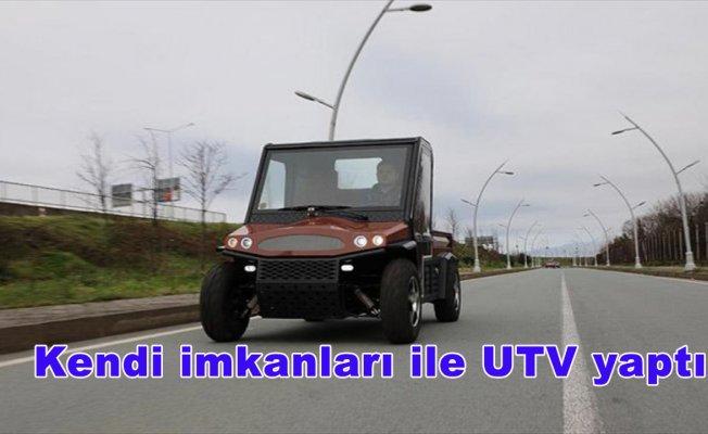 Kendi imkanları ile UTV yaptı