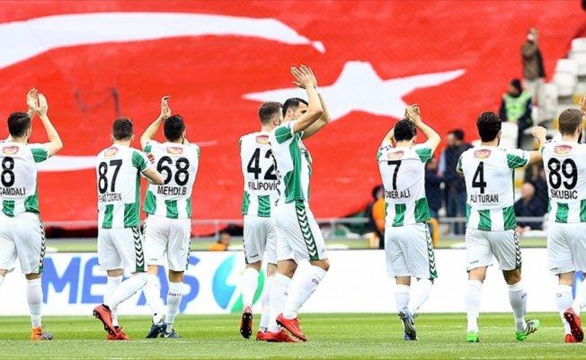 Konyaspor'dan son 5 sezonun en kötü performansı