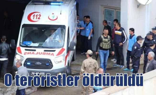 Korucuları şehit eden 5 terörist öldürüldü
