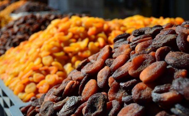 Kuru kayısı ihracatı miktar bazında arttı