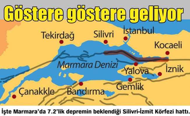 Marmara Depremi göstere göstere geliyor: Geciktikçe şiddet artacak