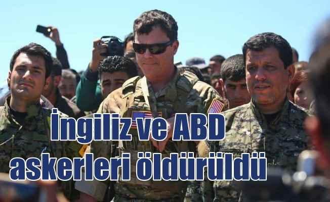 Menbiç'teki saldırıda öldürülenlerden biri İngiliz askeri çıktı