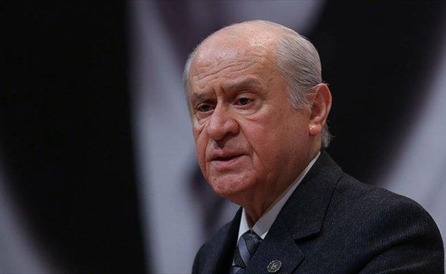 MHP Genel Başkanı Bahçeli: Afrin'de milli onurumuz müdafaa edilmektedir