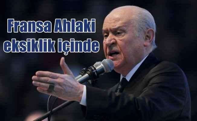 MHP Genel Başkanı Bahçeli'den Fransa'ya tepki