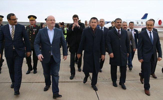 Canikli, Gürcistan ve Azerbaycanlı mevkidaşlarını Giresun'da karşıladı