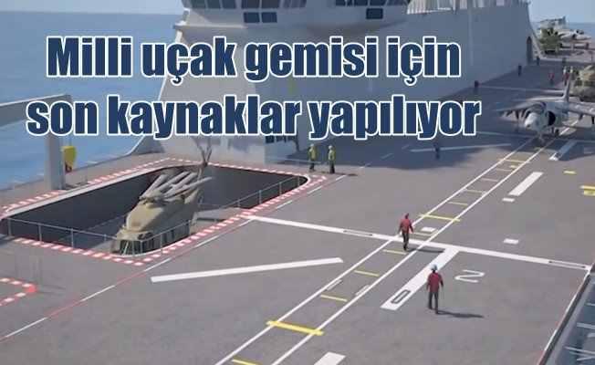Milli uçak gemisi Anadolu'ya son kaynaklar yapılıyor: Anadolu'nun özellikleri