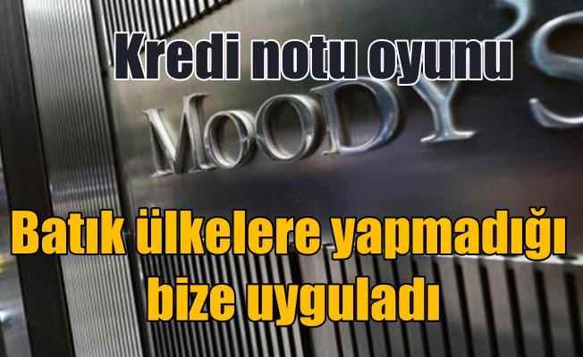 Moody's kredi notumuzu düşürdü; Türkiye'ye ekonomik savaş