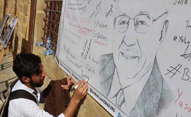 Necmettin Erbakan KKTC'de anıldı