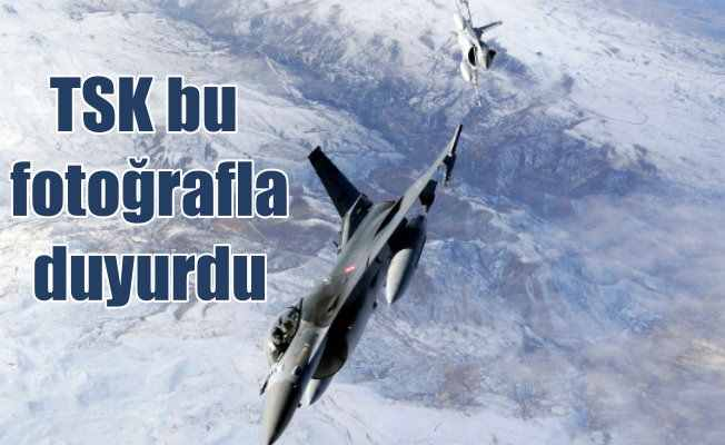 PKK Kamplarını akşam baskını; 12 terörist etkisiz hale getirildi