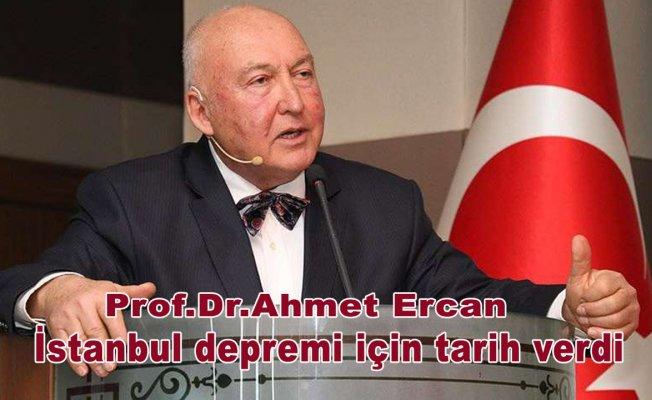 Prof.Dr.Ahmet Ercan İstanbul depremi için tarih verdi