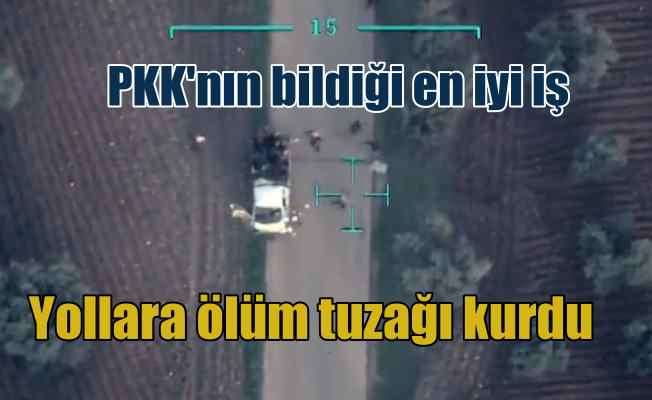 Sivillere bombalı tuzak kuran teröristler böyle vuruldu