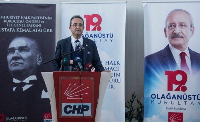 Tezcan'dan CHP'nin Olağanüstü Kurultayı'na ilişkin açıklama
