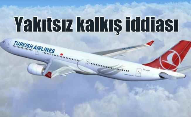 THY, uçağının yakıtsız kalkışa geçtiği iddiasını yalanladı