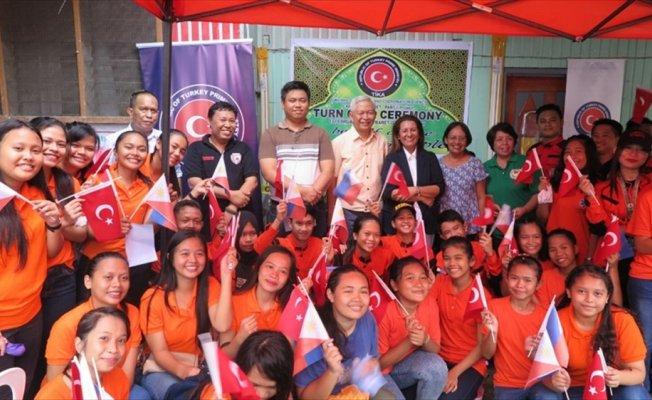 TİKA'dan BARET'e ekipman desteği