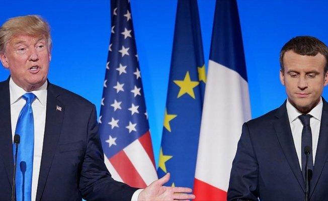 Trump ile Macron 'Türkiye ile iş birliğini' konuştu