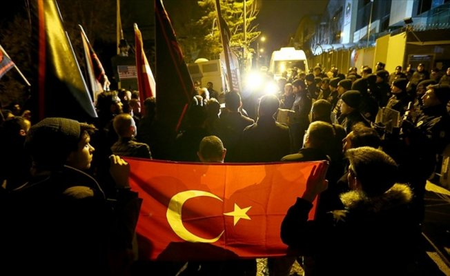 Türk iş adamının Dubai'de gözaltında alınması protesto edildi