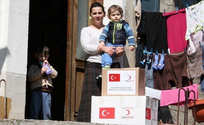 Türk Kızılayından Kosova'da insani yardım