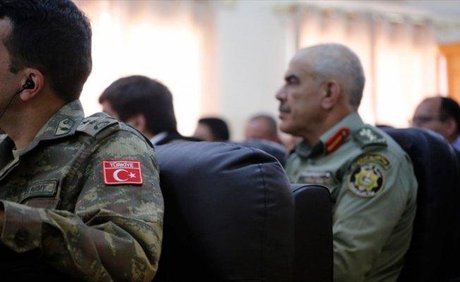 Türk komutanlardan Filistinli asker ve polislere eğitim