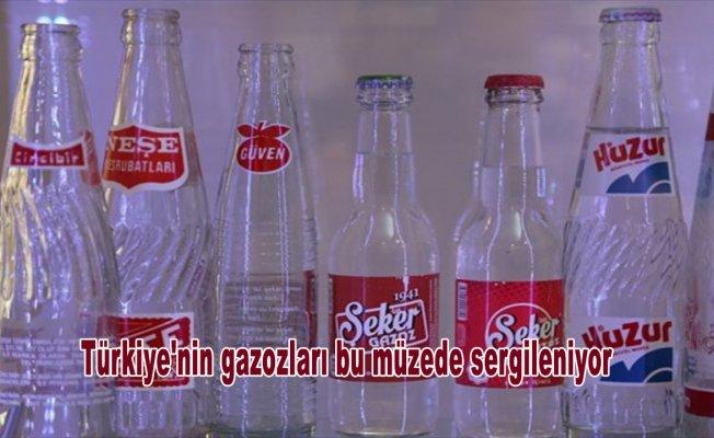 Türkiye'nin gazozları bu müzede sergileniyor