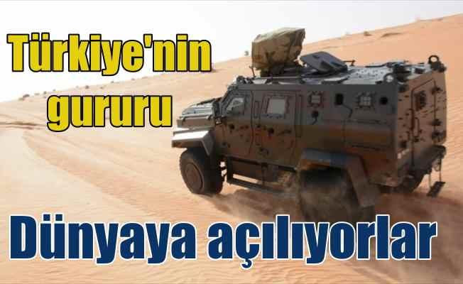 Türkiye'nin zırhlı araç, İHA ve botları görücüye çıkıyor