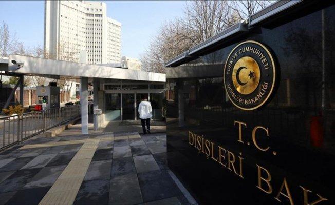 Türkiye'den İsrail Parlamentosunda kabul edilen yasaya tepki