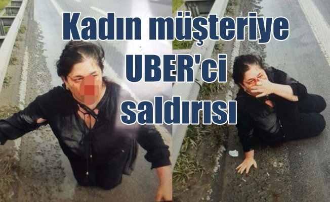UBER sürücüsü kadın yolcuya saldırdı: UBER'den ilk açıklama