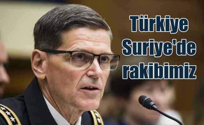 Votel'den Türkiye açıklaması: Türkiye ile rekabet halindeyiz