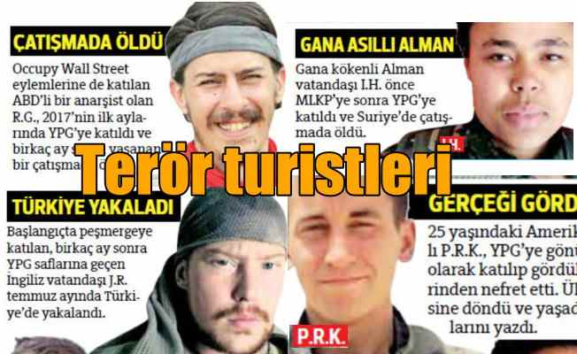 Yabancı teröristler; PKK'ya en büyük katılım Amerika'dan