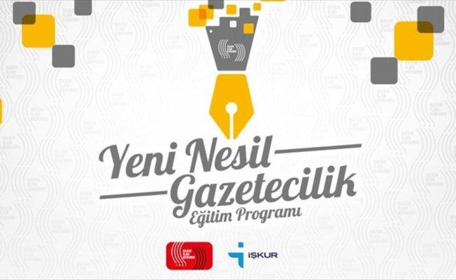'Yeni Nesil Gazetecilik Eğitim ve İstihdam Programı' için  başvurular başladı