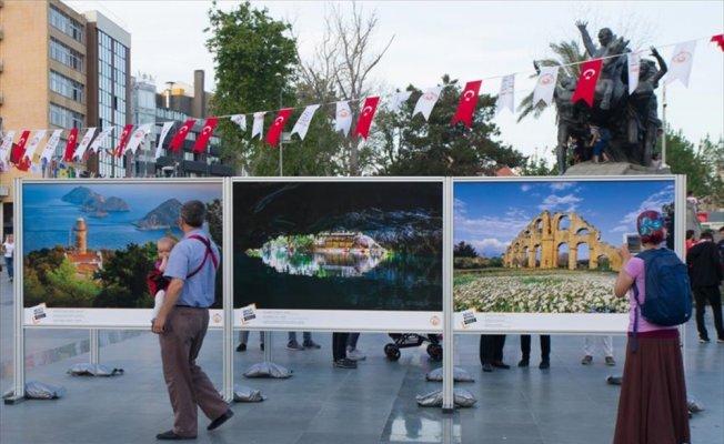 AA'nın 'Işıklar ve Gölgeler' fotoğraf sergisi açıldı