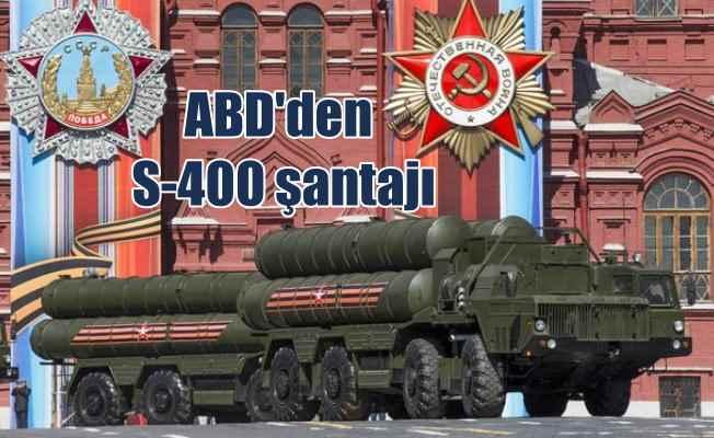 ABD, Türkiye'yi S-400 füzeleri için kendi yasasıyla tehdit ediyor