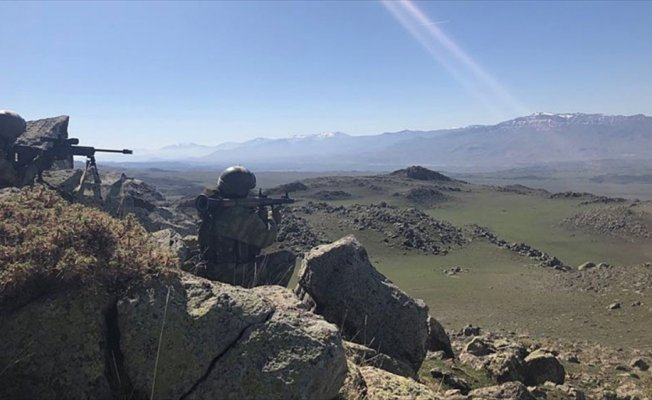Ağrı'da kırmızı listedeki PKK'lı terörist etkisiz hale getirildi