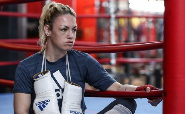 Amerikalı kadın boksör Hardy'nin mücadelesi
