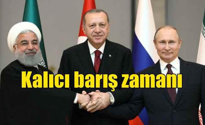 Ankara'da Suriye zirvesi; Kalıcı barış zamanı geldi
