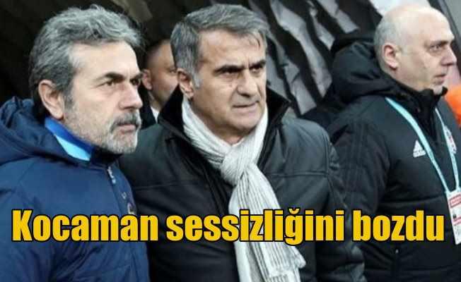 Aykut Kocaman; Şenol Hoca'nın kafasına birşeyler sürülmüş