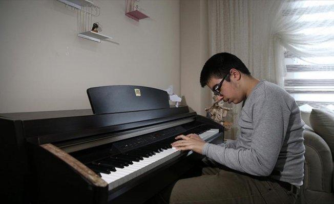 'Bağcılarlı Chopin'in notalarla dansı