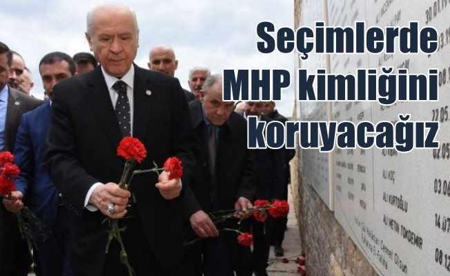 Bahçeli: MHP kimliğini koruyarak seçimlere giriyoruz