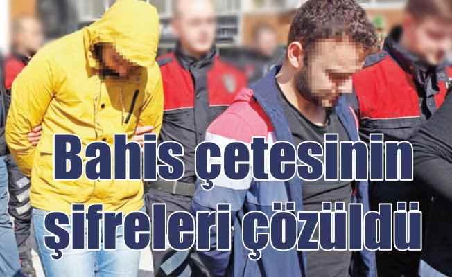 Bahis çetesi milyonluk vurgun yapmış; 14 kişi tutuklandı