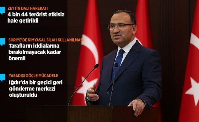 Başbakan Yardımcısı Bozdağ: Suriye, artık hesap yapılacak bir konu olmaktan çıkmıştır