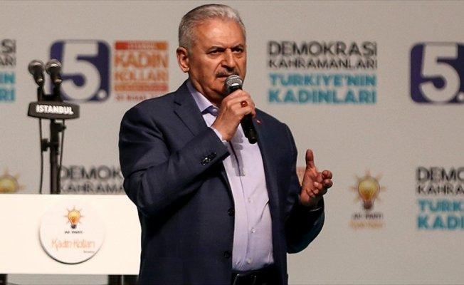 Başbakan Yıldırım: AK Parti'nin gerçek gücü, AK kadınlarımızdır