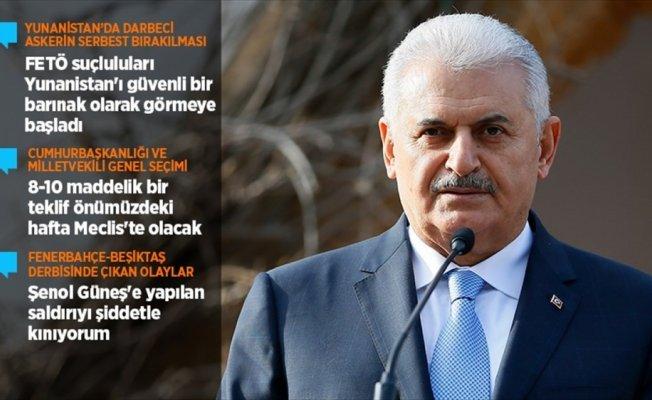 Başbakan Yıldırım: Seçimi ilgilendiren 8-10 maddelik teklif haftaya Meclis'te