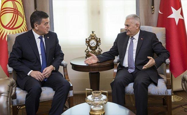 Başbakan Yıldırım: Türkiye Kırgızistan'ın FETÖ'ye karşı somut adımlarını görmek istiyor