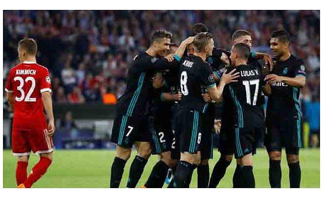Bayern Münih 1- Real Madrid 2