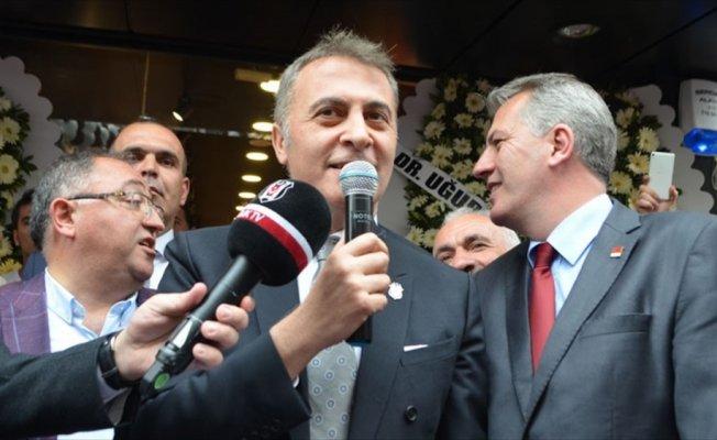 Beşiktaş Kulübü Başkanı Orman: Beşiktaş'ın gündeminde sadece şampiyonluk var